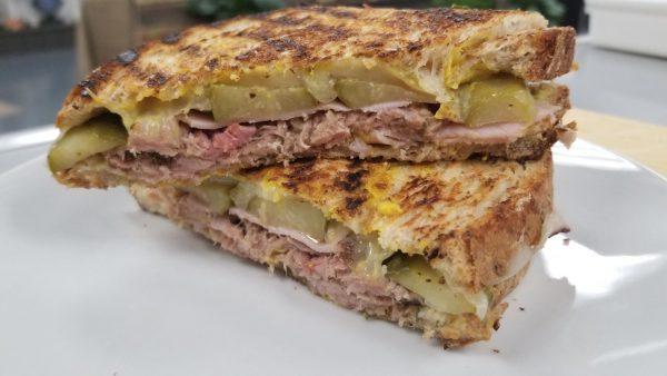 Grilled Pork Sandwich